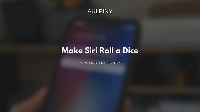 Making siri roll a dice