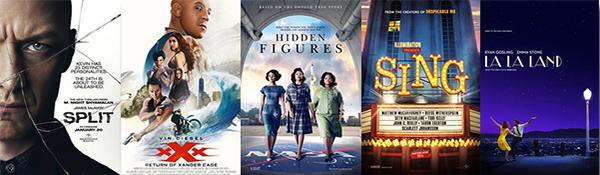 Box office: 2017.01.23 Split