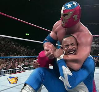 WWE / WWF - One Night Only 1997 Review -The Patriot was booed by the British crowd in his match against Flash Funk