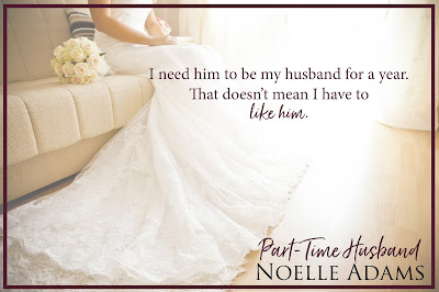Part Time Husband teaser graphic don't have to like him