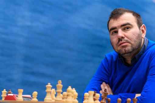 Mamedyarov (2813.3) bat son propre record Elo Live et s'empare de la 1ère place du Tata Steel Chess Masters avec 4.5 points après sa victoire avec les Noirs sur Adhiban - Photo © Alina L'Ami