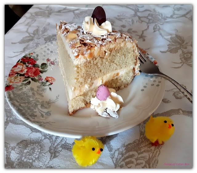 Porción de tarta Sara