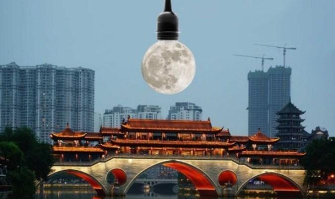 Proyek Bulan Buatan Milik Cina