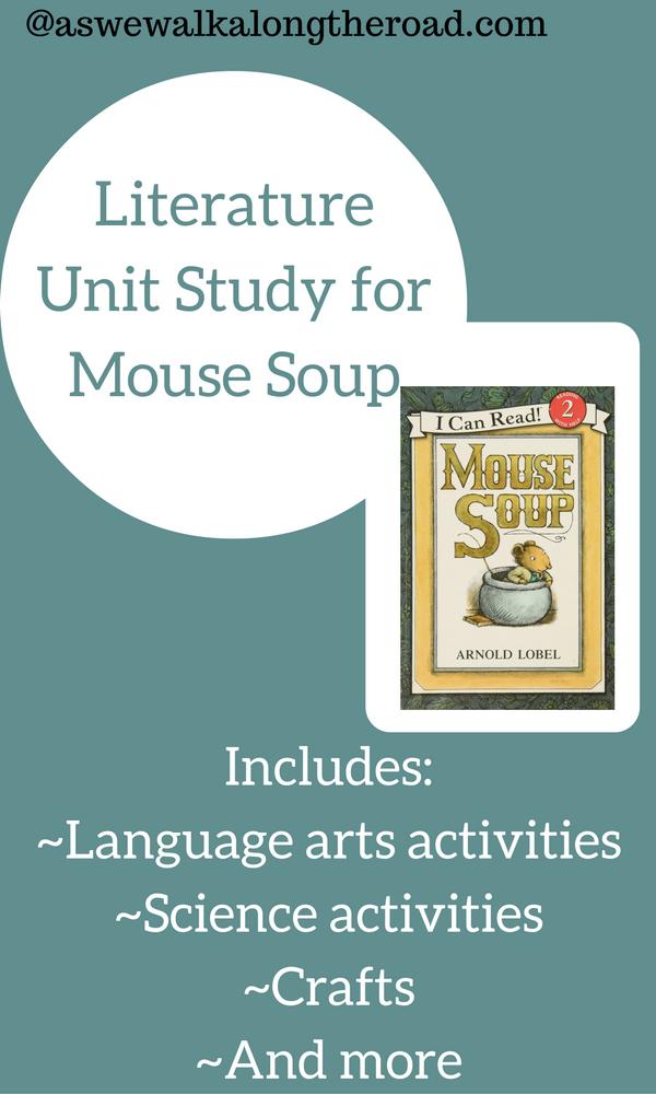 Literature unit study for Mouse Soup