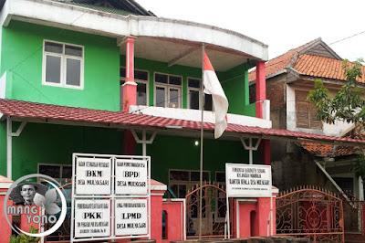 Kantor Desa Mulyasari, Kecamatan Pamanukan.