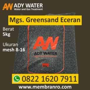 Ady Water jual manganese greensand