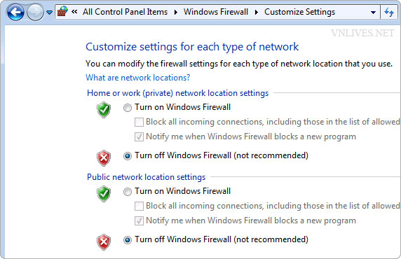 """Fix bug """"Check online for a solution later and close the program."""" in Windows 7. 010"""