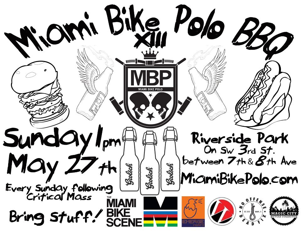 Miami Bike Polo Bbq