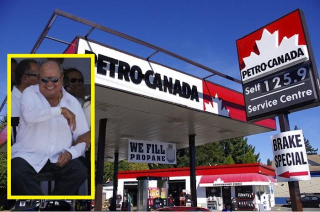 En Canadá hay cero robo de gasolina, porque no tienen un dirigente corrupto como en México