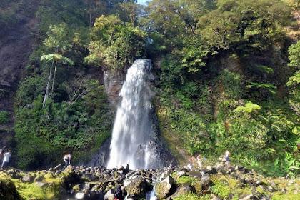 Curug Cibeureum, Pesona Alam Air Terjun di Lereng Gunung Gede Pangrango Jawa Barat