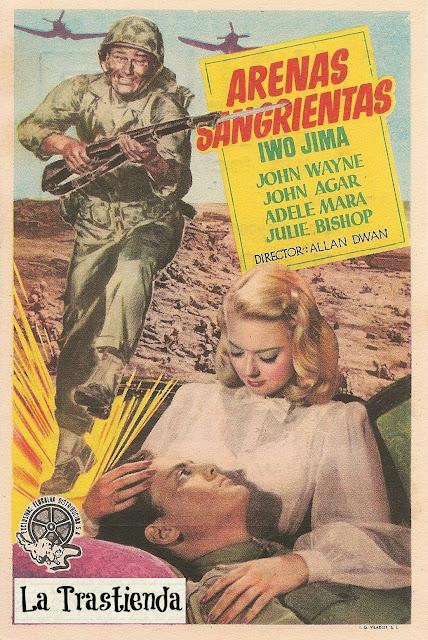 Programa de Cine - Arenas Sangrientas (Iwo Jima) - John Wayne - John Agar