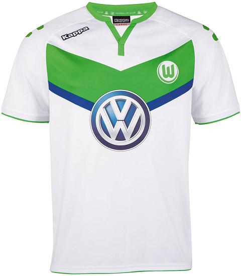lowest price 906d7 3f49b Kappa Wolfsburg 2015/16 Football Jerseys