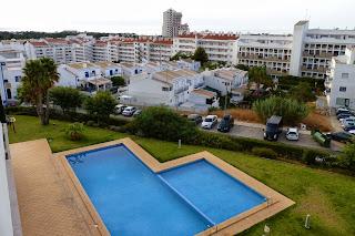 Nuestro apartamento en Albufeira.