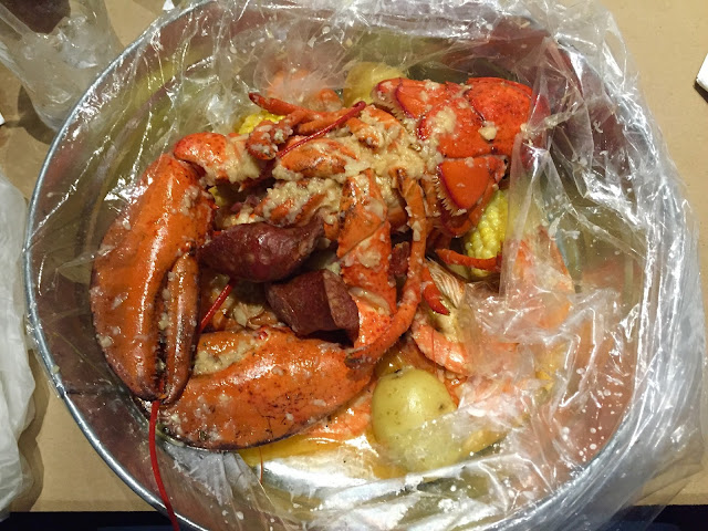 Eating Fabulously, Christopher Stewart, CajunSea, seafood, restaurant review