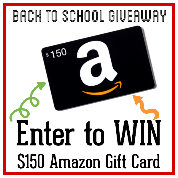 $150 Amazon Gift Card Giveaway