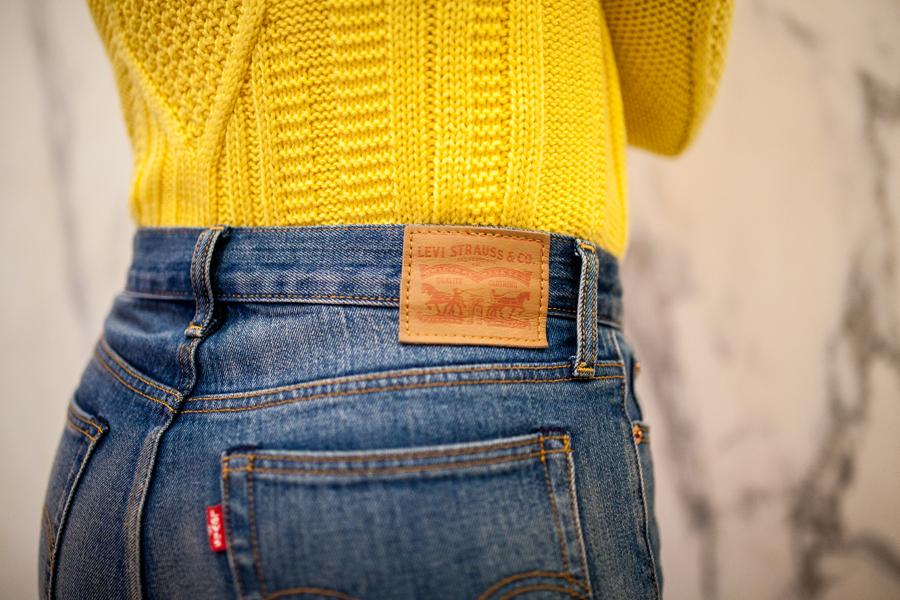 levis high waist jeans