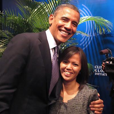Ima Matul Maisyaroh, perempuan pertama Indonesia yang bicara di Kongres Partai Demokrat AS