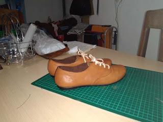 sepatu wanita kulit oxford solo