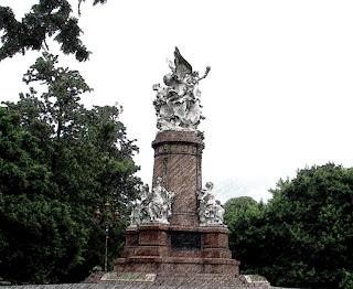 Monumento da Plaza Francia, Recoleta, Buenos Aires