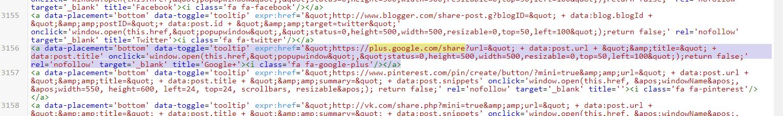 html код кнопки гугл плюс