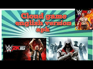 Cloud Games English Version Apk