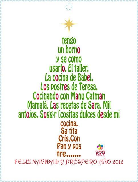 Postres Para Una Feliz Navidad.Los Postres De Teresa Felices Fiestas