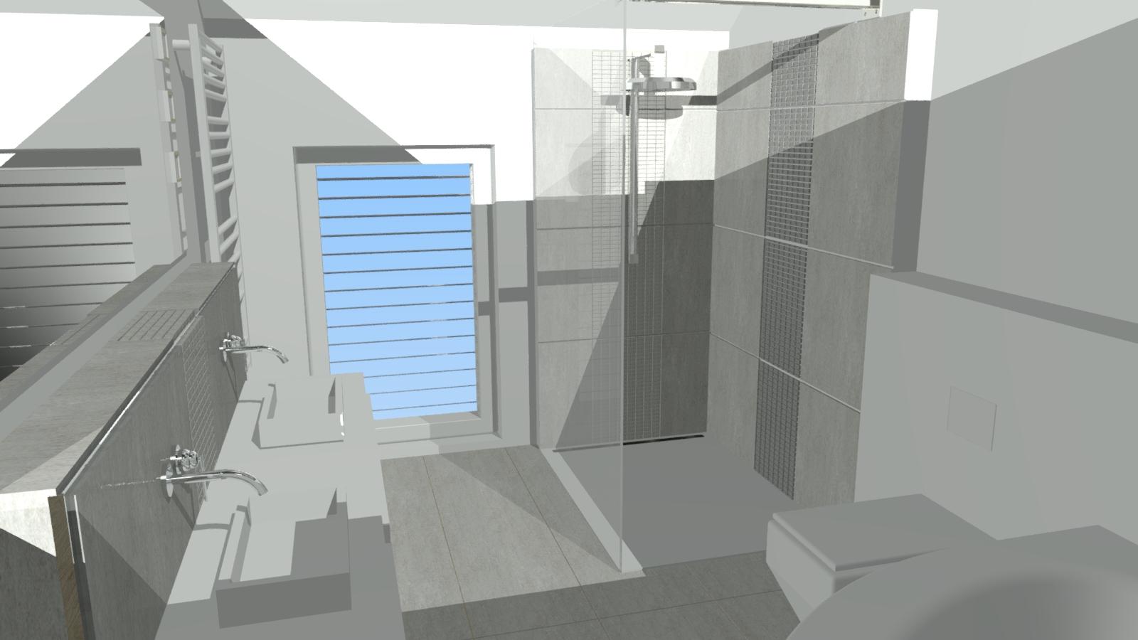 unser okal haus fliesen im badezimmer teil 2. Black Bedroom Furniture Sets. Home Design Ideas
