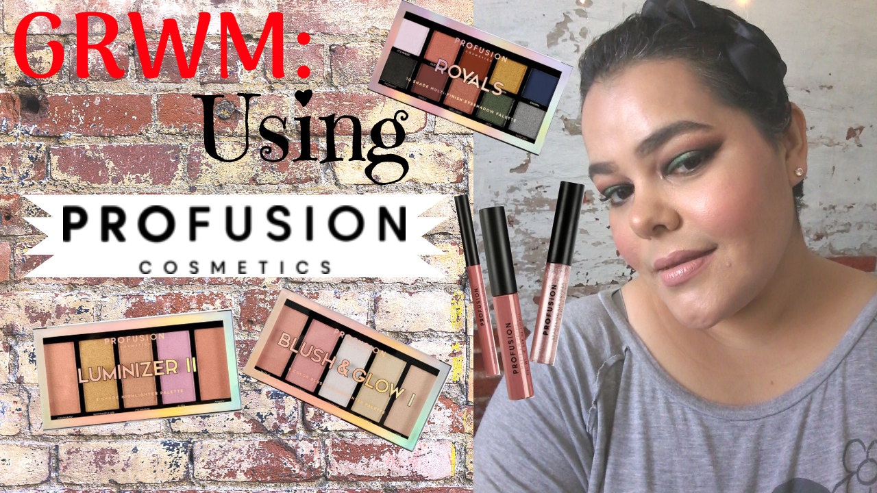 09b4f531a8336 Get Ready With Me  Profusion Cosmetics 2018 Collection (YouTube ...
