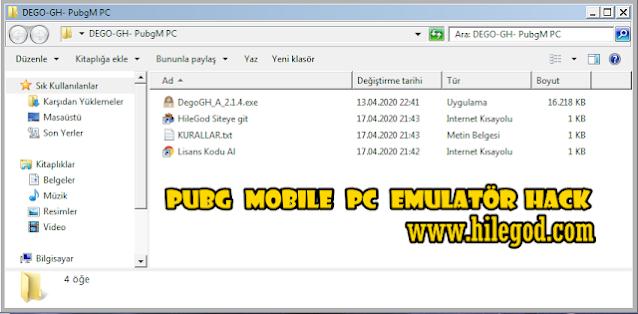 Pubg Mobile PC Emulatör DEGO GH Hack 2021 - ESP, Aimbot, Wall Hack