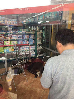Mr. Kem Ley was gunned down while having a coffee at a Mini-mart on Sunday morning. KT/Chor Sokunthea