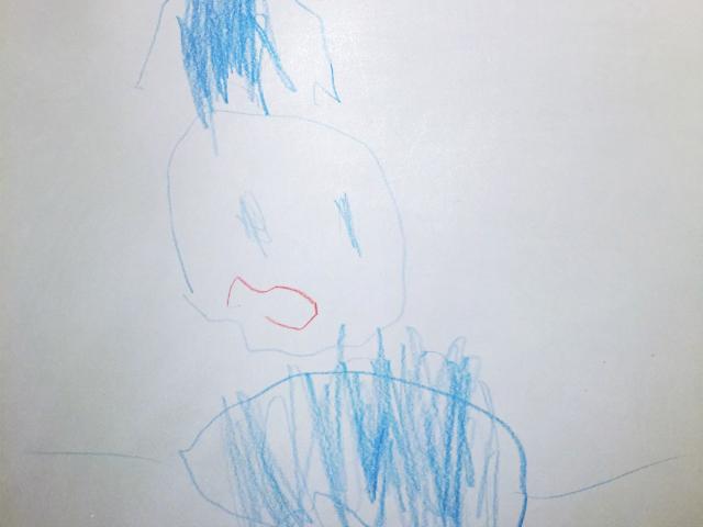 Kindergarten-Kunst made by Zwuggel - www.kugelfisch-blog.de