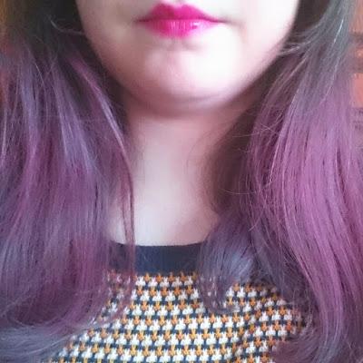 Cheveux roses - Hair Chalk craie Vivelle Dop