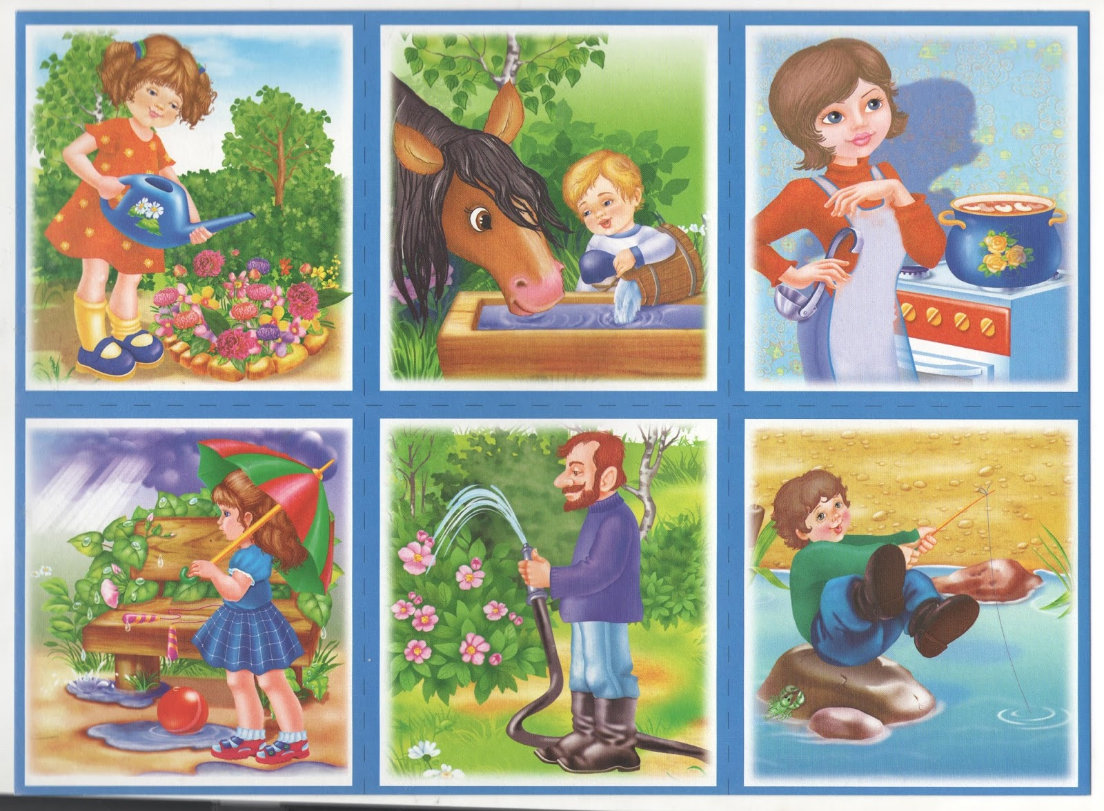 Картинки по природе для дошкольников в картинках
