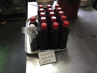 そばつゆ作り(2016.07.10)