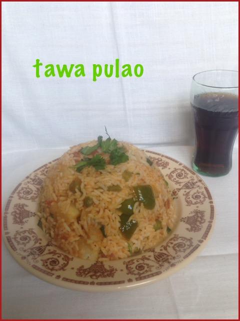 Tawa Pulao ~ Mumbai Street Food