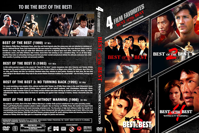 Best Of The Best Franchise Collection DVD Cover