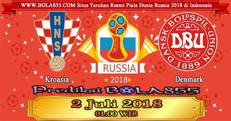 Prediksi Bola855 Croatia vs Denmark 2 Juli 2018