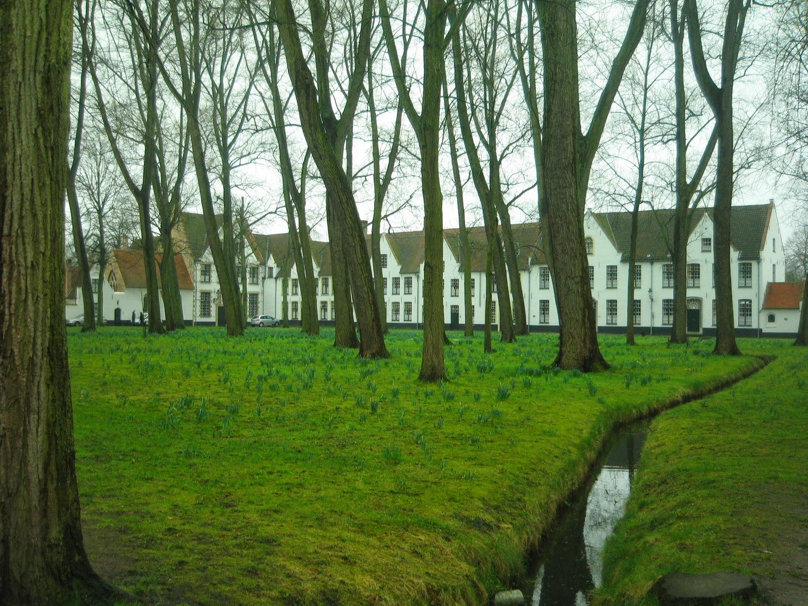 Begijnhof/Beguinaje en Brujas