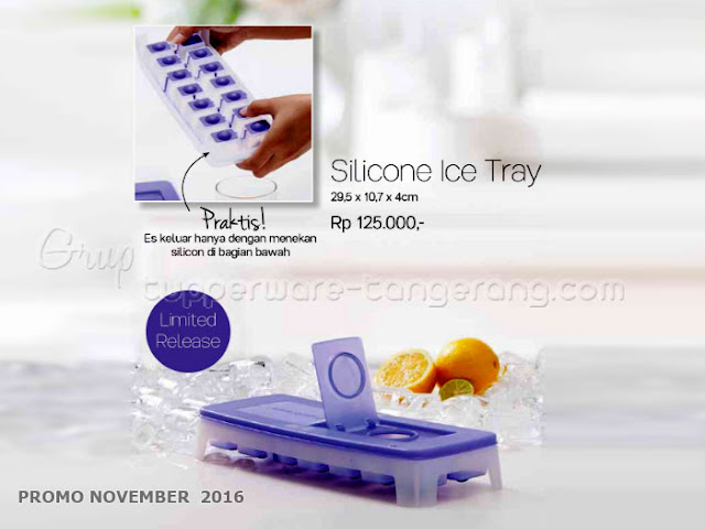 Silicon Ice Tray Promo Tupperware November 2016