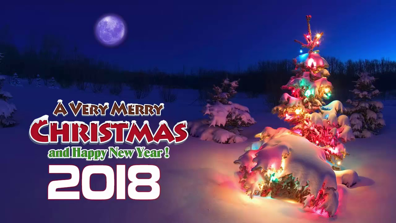 Merry Christmas And Happy New Year 2018 Hd Images Trekking In