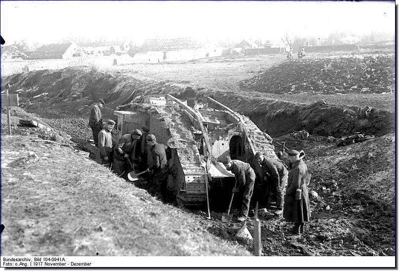 Development of Tanks from WW1 to WW2 Essay Sample
