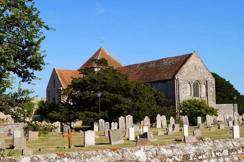 iglesia y cementerio