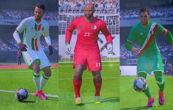 Algeria 2017 Kit PES 2017