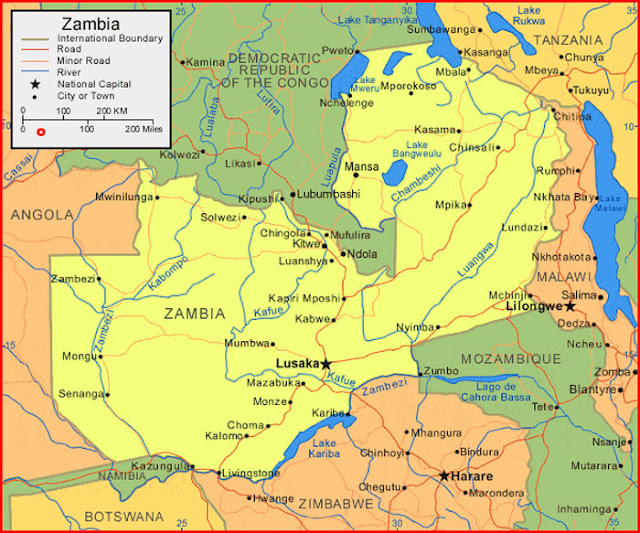 image: Map of Zambia