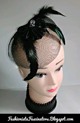 Black wedding fascinators in Kenya
