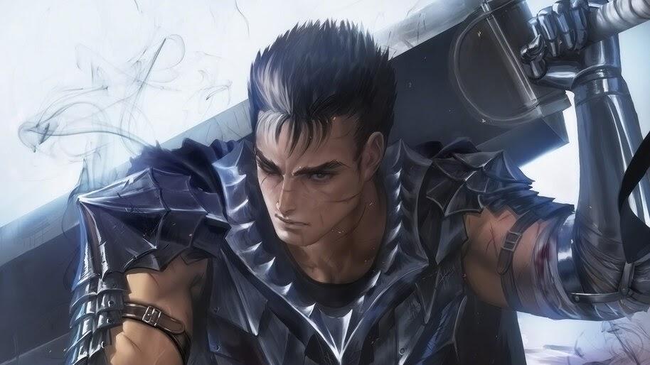 Guts, Sword, Berserk, Anime, 4K, #4.630