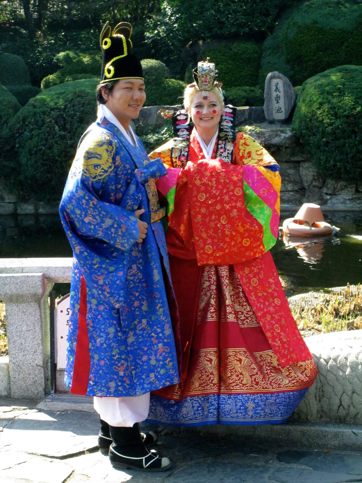 Brittons Abroad A Traditional Korean Wedding