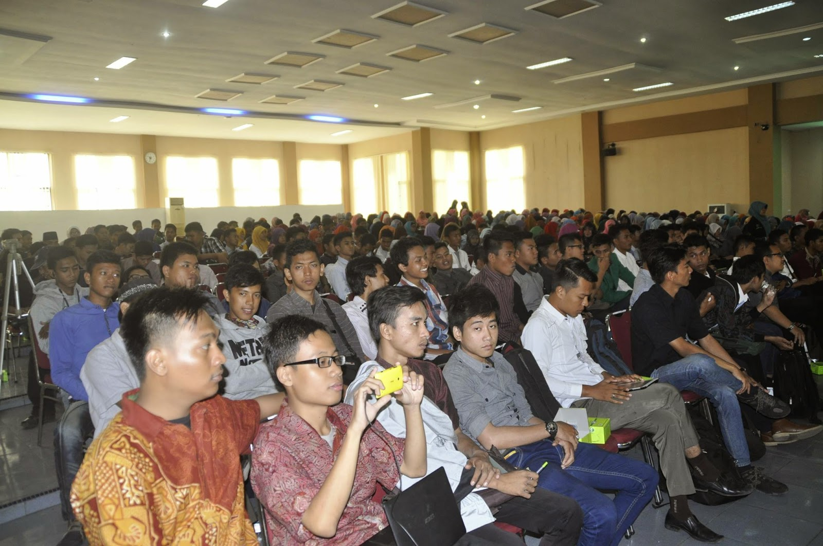 GenBI UIN SU Motivasi Mahasiswa Jadi Entrepreneur