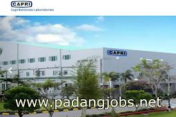 Lowongan Kerja Padang: PT. Caprifarmindo Laboratories April 2018