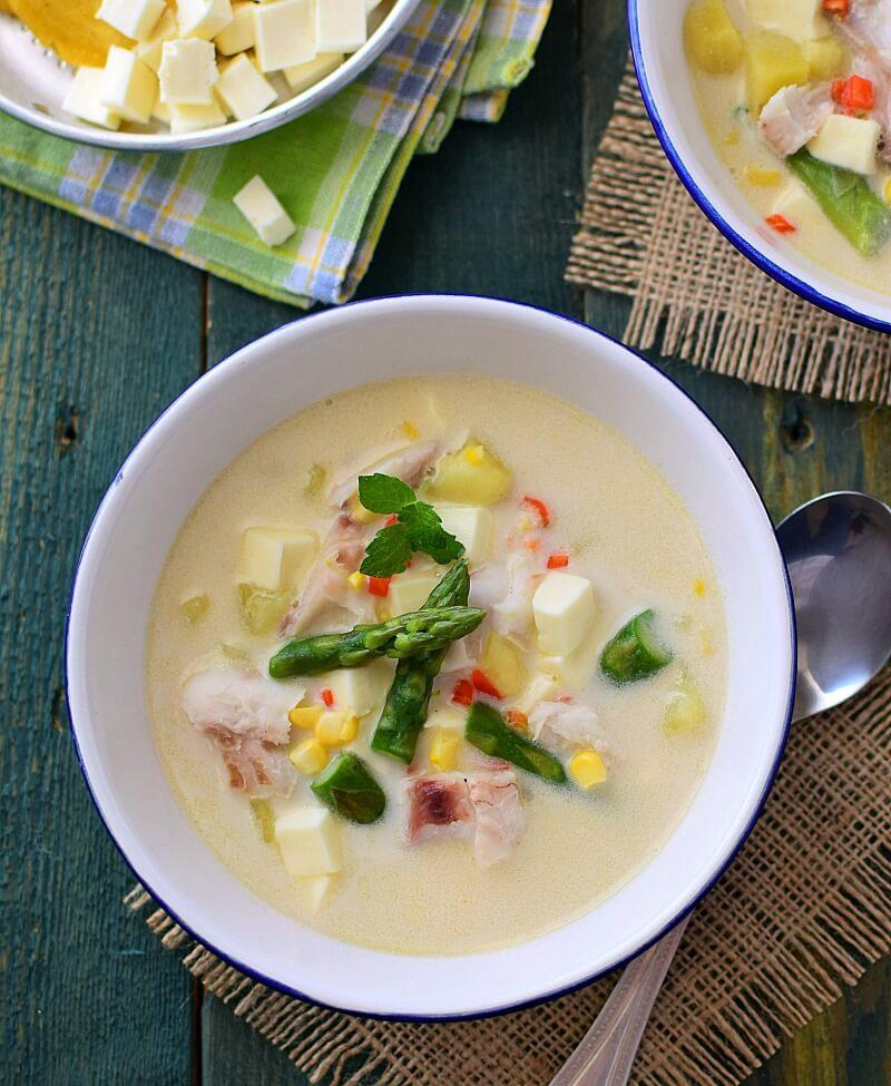 Chupe de pescado, receta en versión venezolana de Armando Scannone